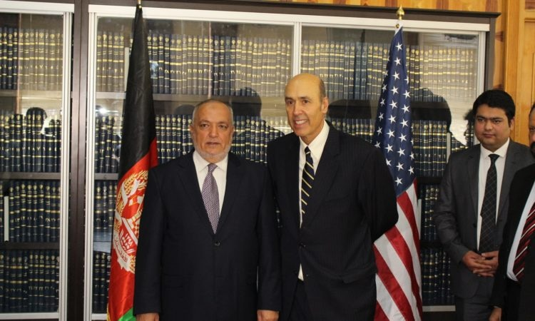 U.S. Embassy Donates Technical Equipment to the Supreme Court