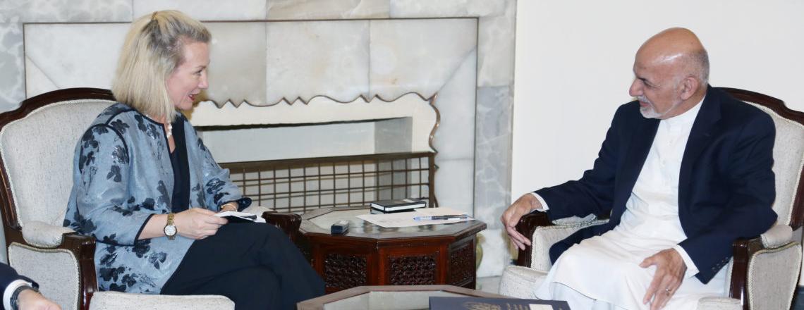 Ambassador Alice Wells Meets Afghan and International Partners in Kabul