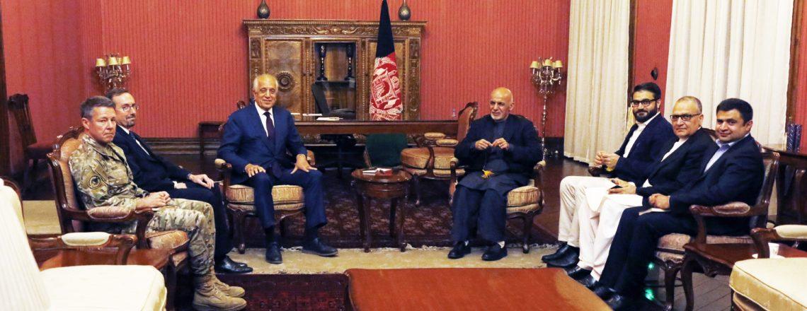 نمایندۀ خاص ایالات متحده برای آشتی ملی افغانستان از کابل دیدار کرد